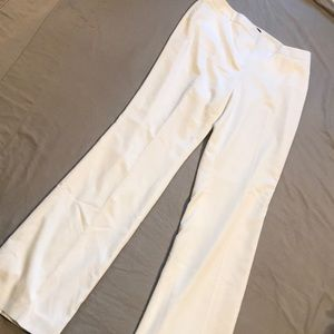 """WHBM White """"The Slim Boot"""" Trousers - Size 10L"""